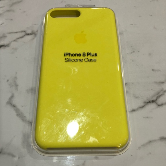 brand new 821d7 c40c5 iPhone 7/8 Plus Silicone Case - Lemonade NWT
